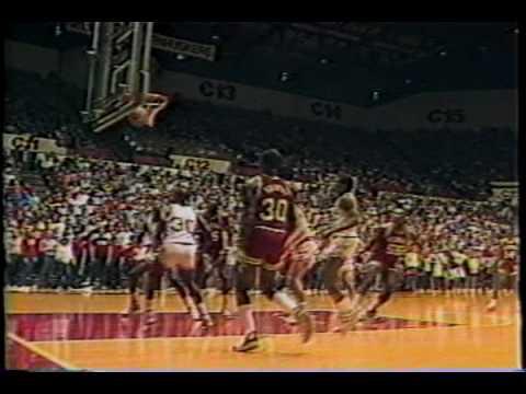 OU Basketball 1986 Season Highlights Part 3 of 4