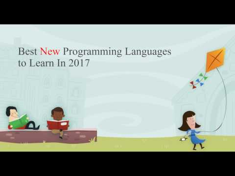 Best New Programming Languages To Learn In 2017