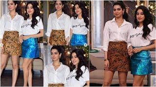 Janhvi kapoor and Khushi kapoor sexy video: नेहा धूपिया के चैट शो Vogue BFF में दिखा जाह्नवी कपूर...