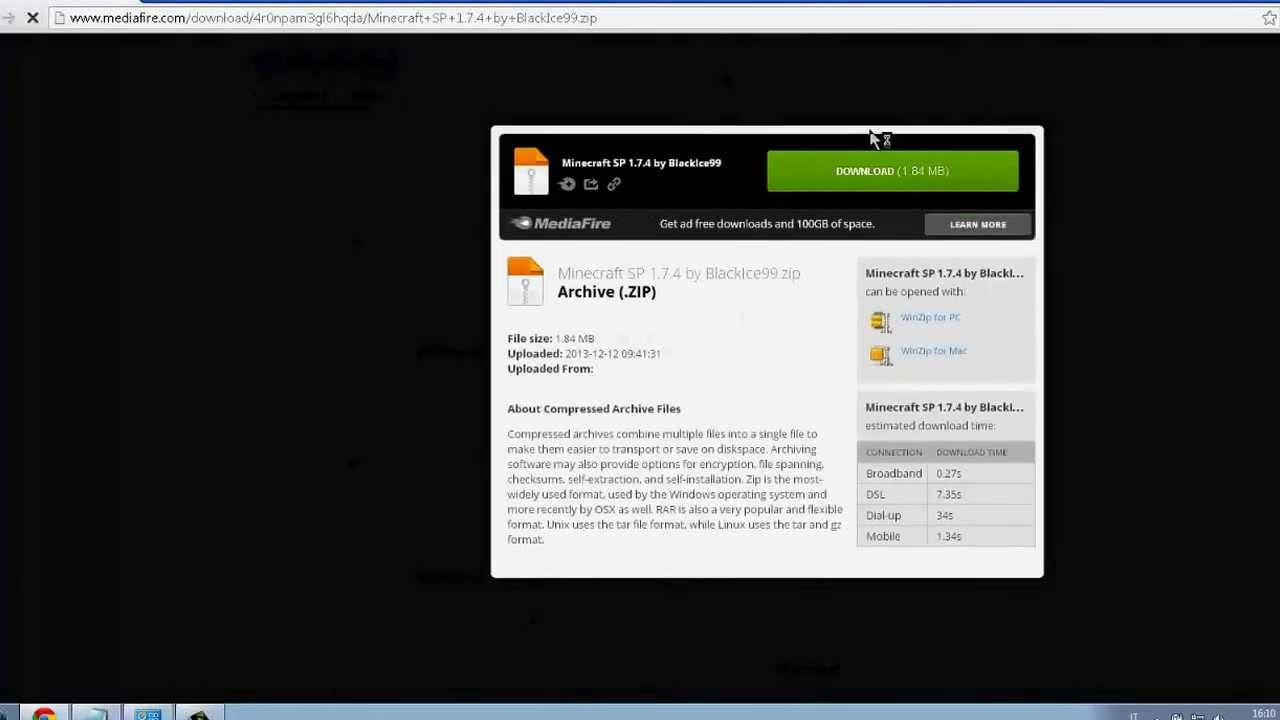 Download minecraft 1. 7. 2 free 2013 youtube.