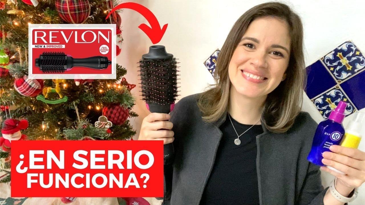 ¿En serio funciona? Revlon one step hair dryer