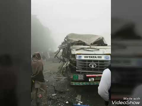 Bus And Truck Road Accident In Firozpur Fazilka Road, Punjab