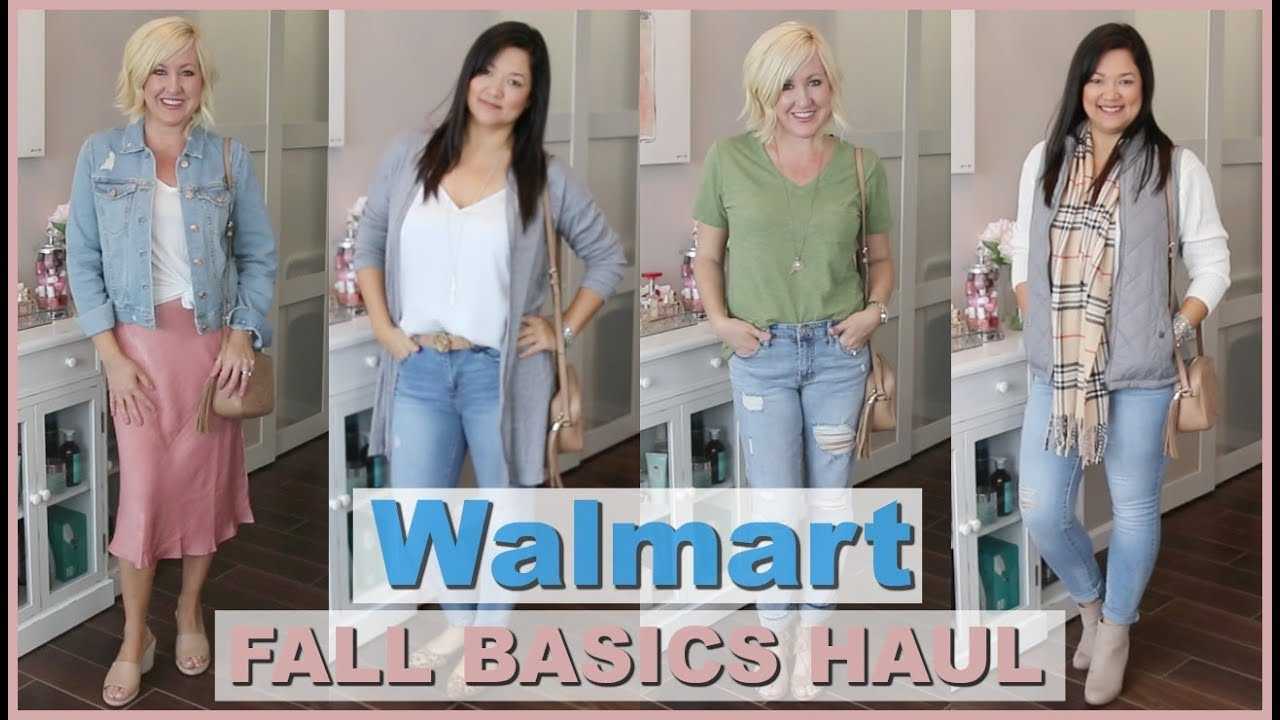[VIDEO] - HUGE WALMART TRY ON HAUL 2019 | AFFORDABLE FALL BASICS 7
