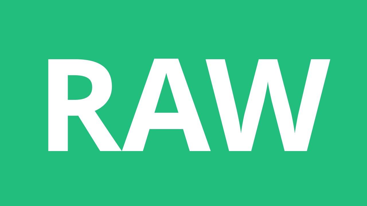 How To Pronounce Raw - Pronunciation Academy