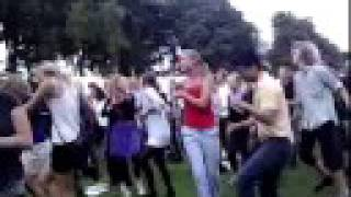 LG Secret slow motion dance in Faelledparken Copenhagen