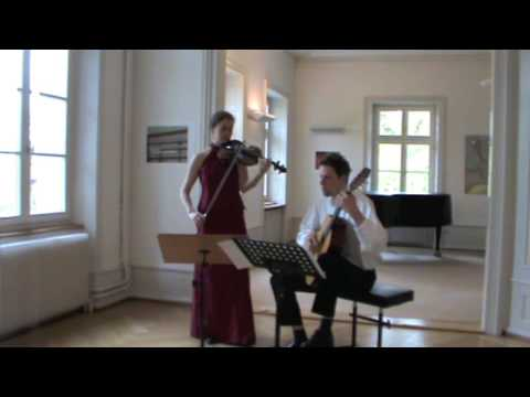 Niccolò Paganini - Centone di Sonate - Sonate Nr. 1 - Allegro maestoso