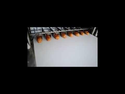 Видео работы дозатора и начинконаполнителя кондитерских изделий из различных видов теста
