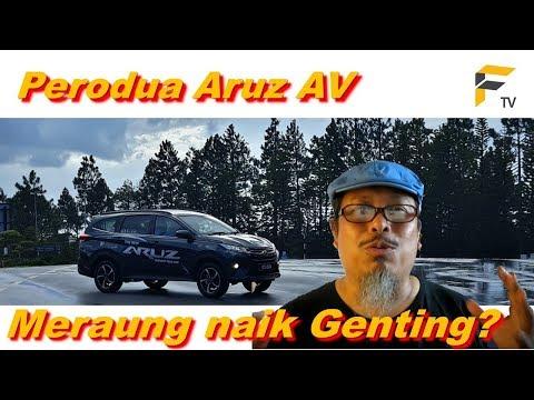 The Original Aruz Panjat Genting Video: Panjat  Genting Highlands melalui Jalan Lama Gombak.