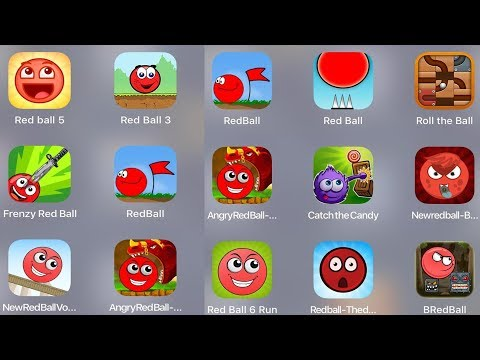 Red Ball 5,Red Ball 3,Red Ball 4,Red Ball Legend,Frenzy Ball,Red Ball Jump,Roll The Ball