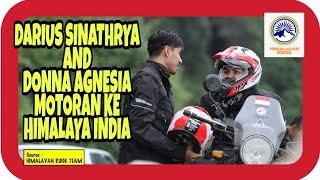 VLOG 342 (+) - Darius Sinathrya & Donna Agnesia Motoran Ke Himalaya India - By : SAID MC (14.9.2019)