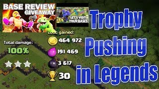 #trojan_war #coc#giveway !! CLAN GAMES !!Base review!! TITAN PUSH !!