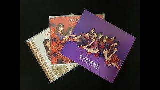 [Unboxing] ???? GFRIEND Memoria / 夜(Time for the moon night) [初回限定盤 A,B,通常 Ver.]