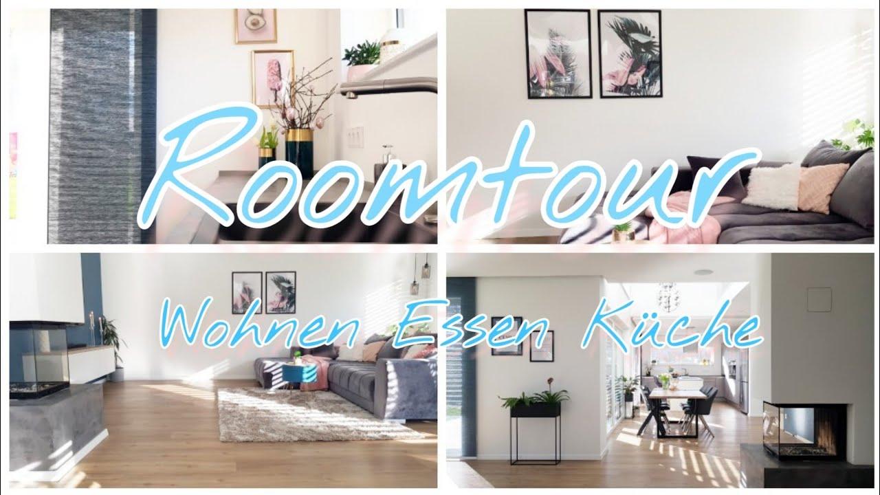 Roomtour Wohnzimmer Küche Esszimmer| Offenes Wohnen| Die Siwuchins
