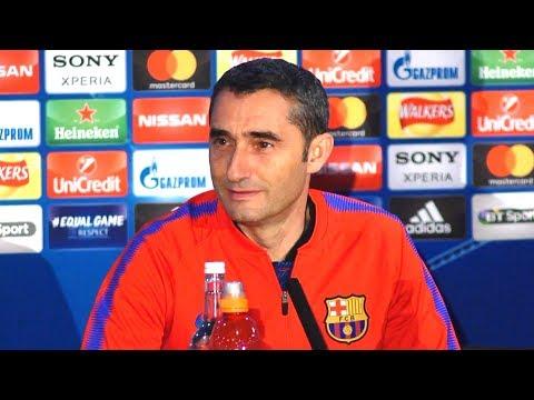 Ernesto Valverde Full Pre-Match Press Conference - Chelsea v Barcelona - Champions League