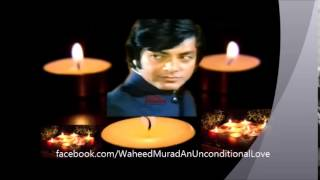 Remembering Pakistani Film Legend Waheed Murad-31st Death Anniversary November 23, 2014