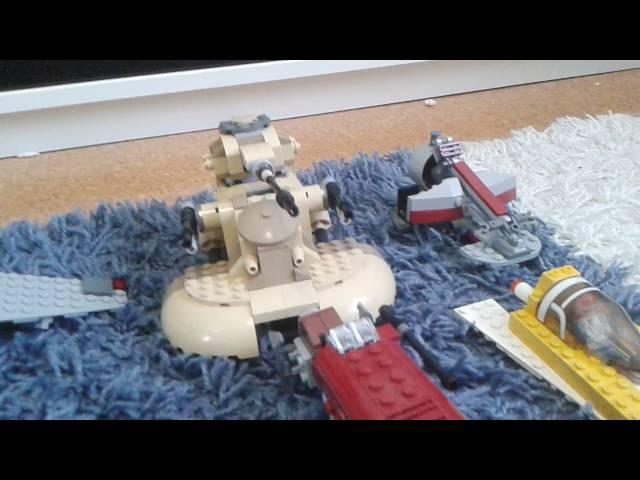 Meine Lego Star Wars Fahrzeuge