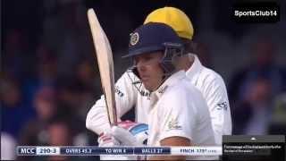 Marylebone Cricket Club XI Vs. Rest of the World XI - MCC WIN BY 7 WICKETS