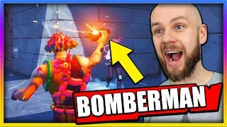 NOWY TRYB Z DYNAMITEM W FORTNITE - BOMBERMAN | BATTLE ROYALE
