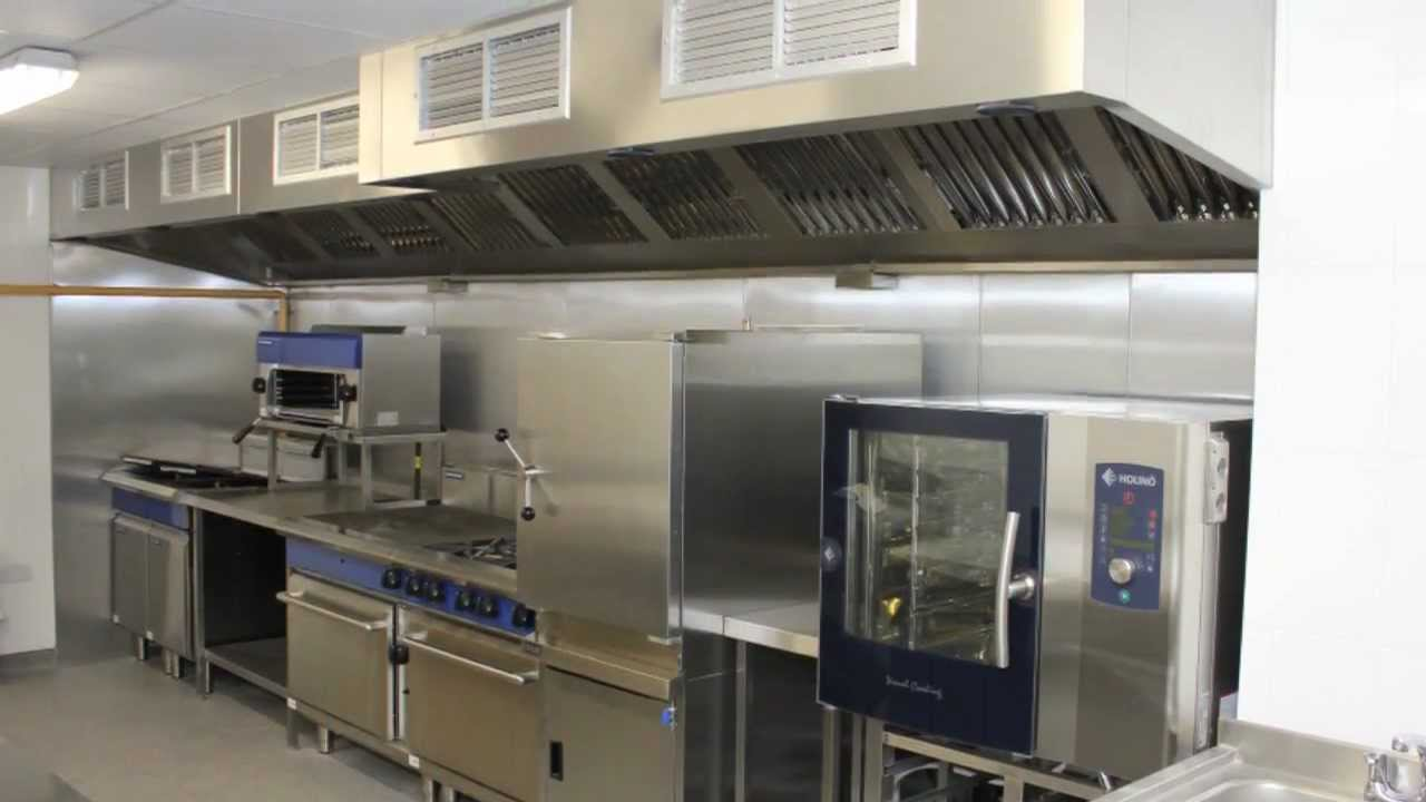 open commercial kitchen design.  CFS Commercial Kitchen Design project wmv YouTube