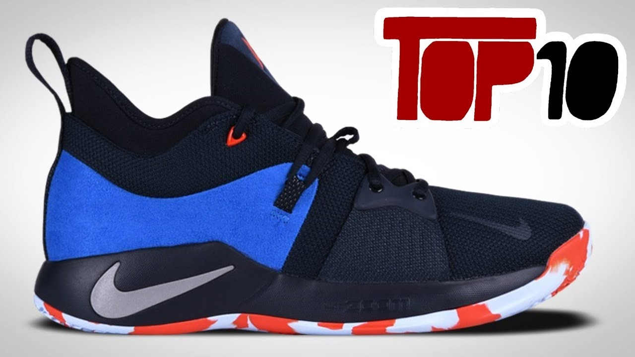 17437204d4fd Top 10 Nike PG 2 Shoes Of 2018 - YouTube