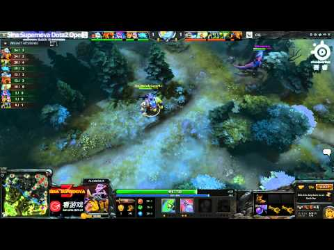 Sina Cup S3 - SNT vs CIS game 3