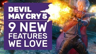 V Gameplay, Rocket Surfing And 9 More Devil May Cry 5 Features You'll Love