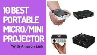 ✅Top 10 Best Portable Micro Projector in 2018-2019