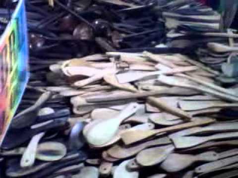 Kerajinan dan Miniatur Kayu Suasana Pasar Malam Sekaten Yogyakarta 42