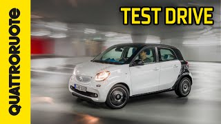 Smart ForFour 2015 Test Drive