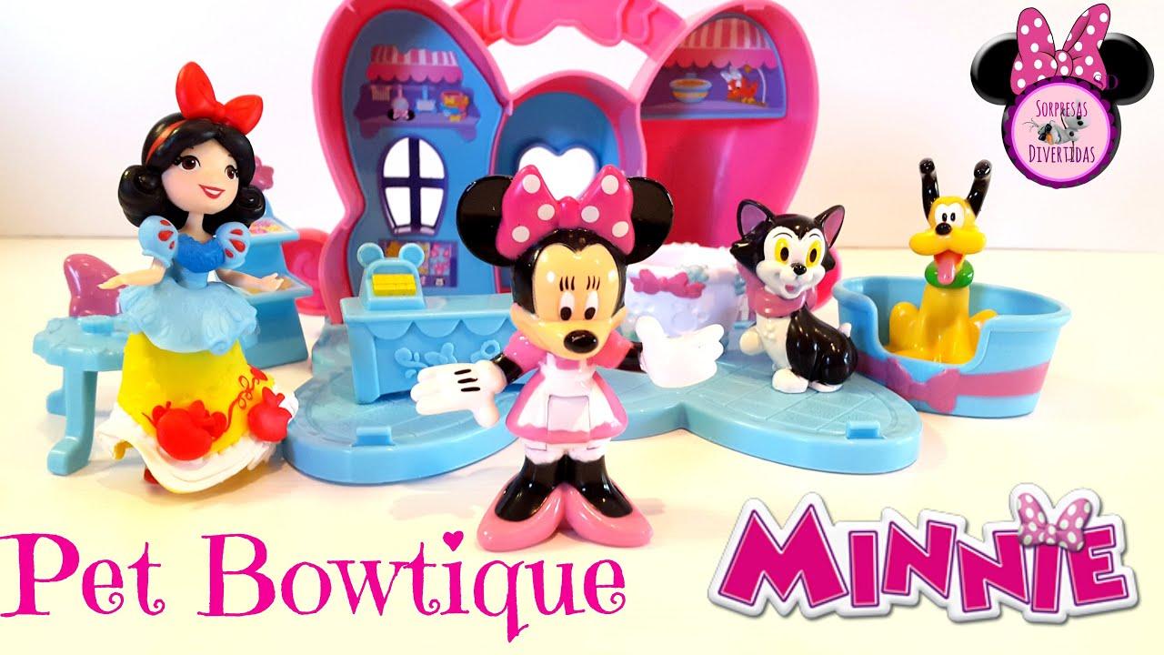 Pet Bowtique Minnie Mouse juguetes Disney en Español - Minnie Mouse ...