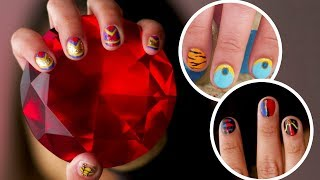 Aladdin Nail Art, 3 Ways | TIPS by Disney Style