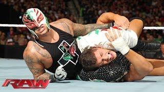 Cody Rhodes & Goldust vs. Big Show & Rey Mysterio - WWE App Vote Match: Raw, Dec. 16, 2013