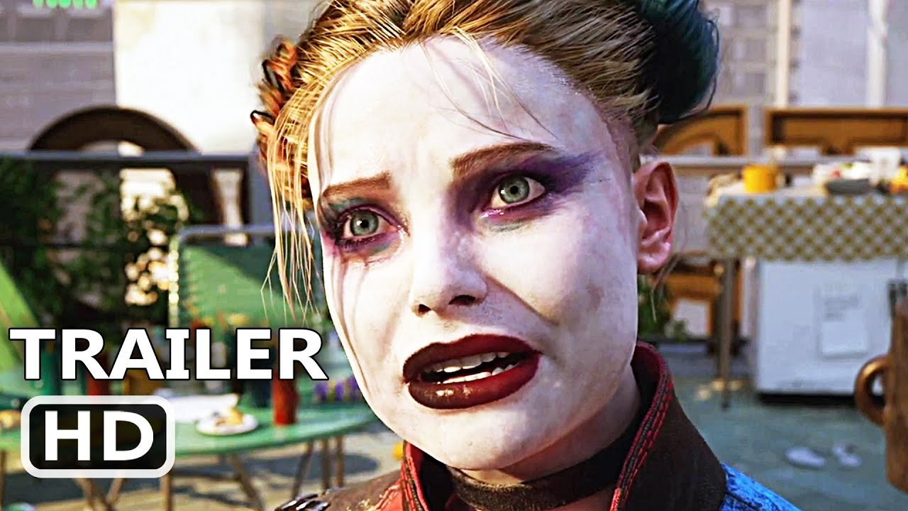 SUICIDE SQUAD: KILL THE JUSTICE LEAGUE Trailer (2021), Superhero Video Game HD