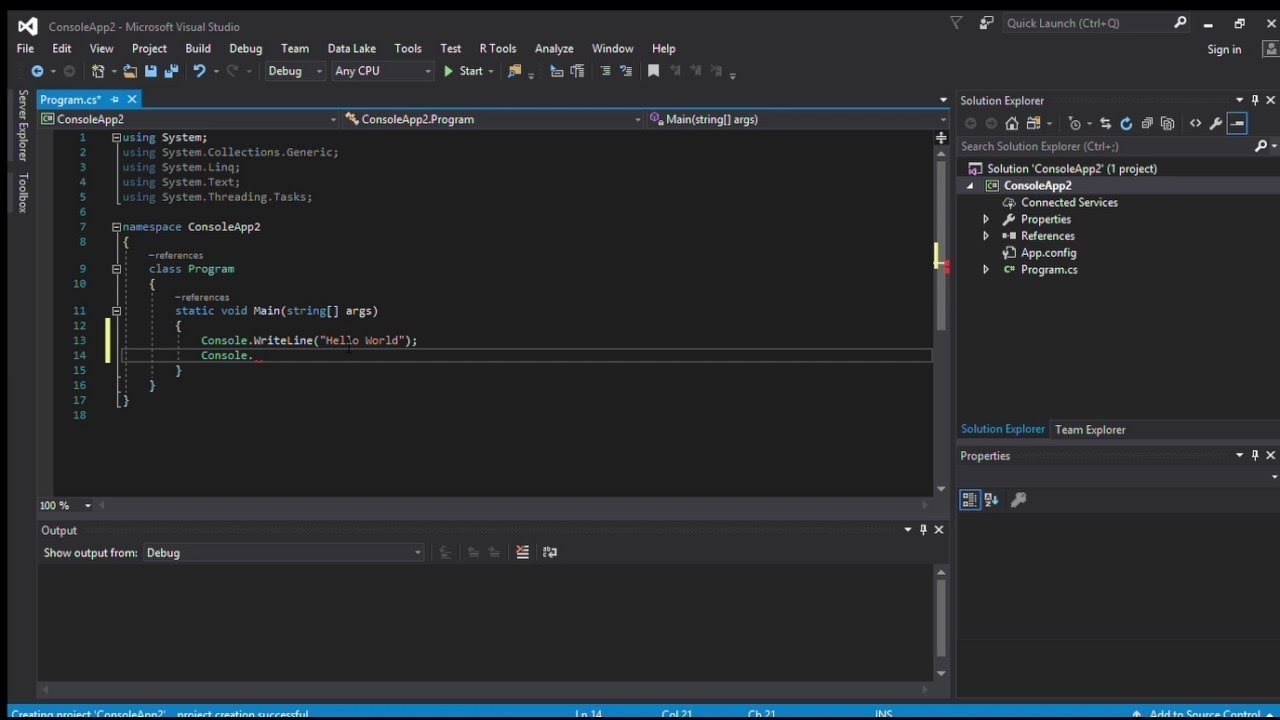 Visual Stdio 2017 setup for Visual Basic (part 1)
