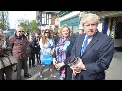 Boris Johnson comes to Chiswick