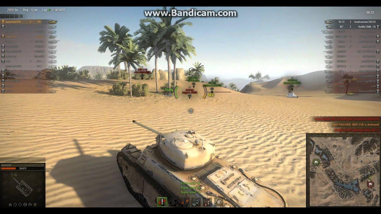 World of Tanks Matching M6