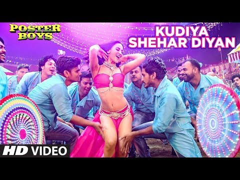 Kudiya Shehar Di Song | Poster Boys | Sunny Deol, Bobby Deol, Shreyas Talpade, Elli AvrRam