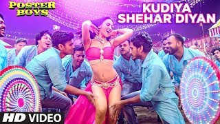 Kudiya Shehar Diyan Video Song - Poster Boys