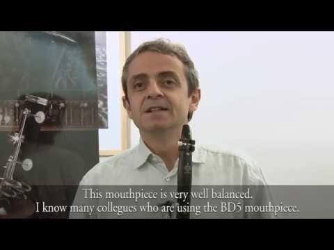 Pascal Moraguès talking about the new BD5 Vandoren mouthpiece