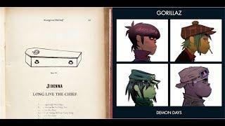 The Chief Has Come - Jidenna vs Gorillaz (Mashup)