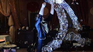 Ракетка для трюка Мыльные гроздья - реквизит для шоу мыльных пузырей