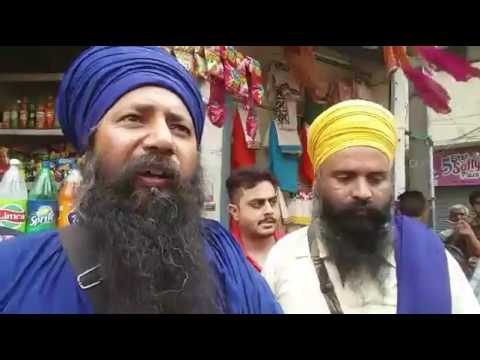 Singh Expose:- Hindu Selling Tobacco with help of SGPC Task Force out Side Darbar Sahib #Arrested