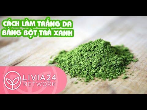 Nguyên liệu và hướng dẫn cách làm trắng da bằng bột trà xanh matcha | Webtretho