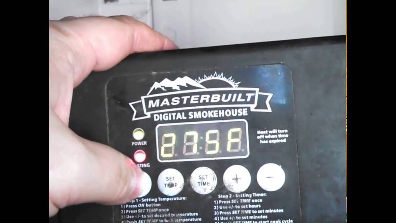masterbuilt electric smoker modifications youtube rh youtube com Masterbuilt Electric Smoker Parts masterbuilt 30 electric smoker wiring diagram