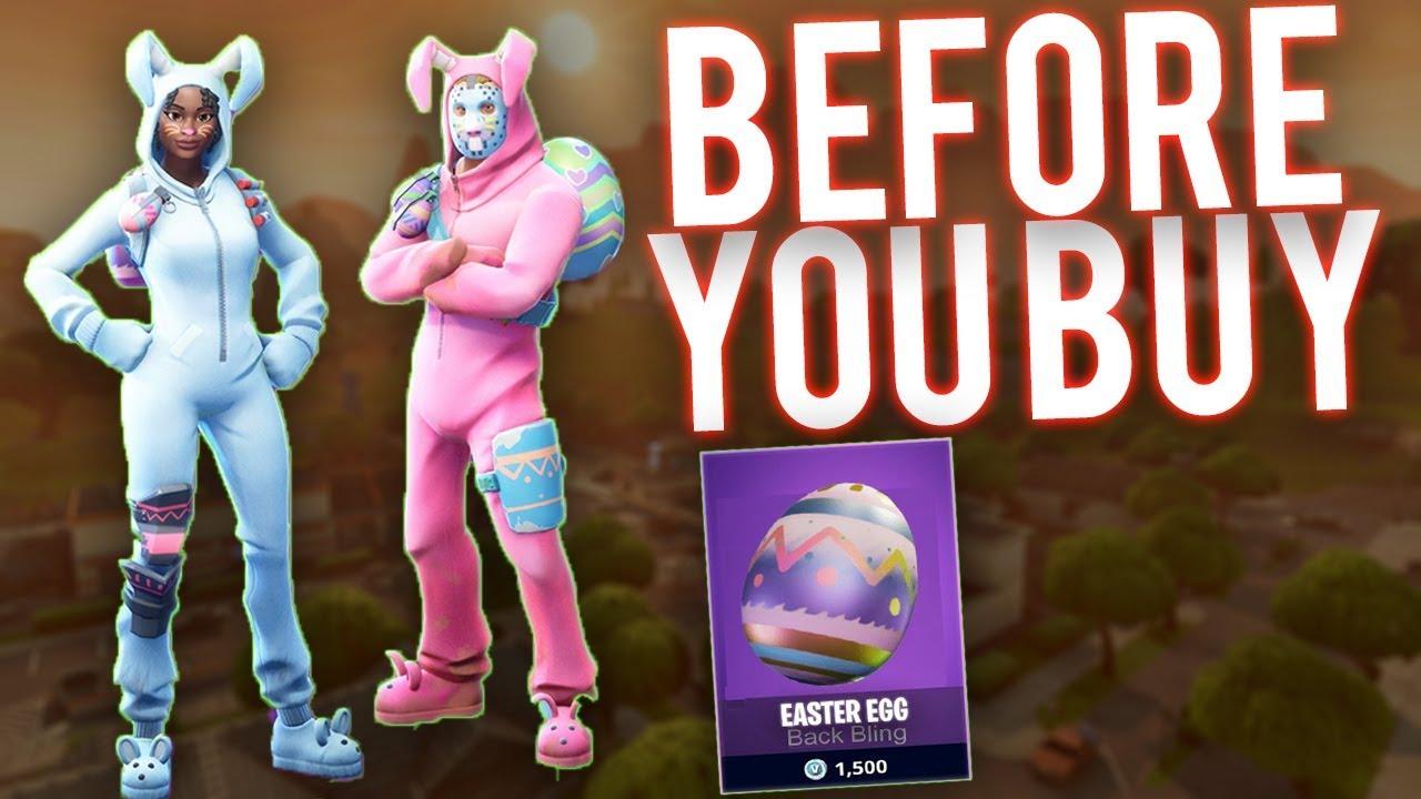 Fortnite easter skins before you buy rabbit raider bunny brawler is it worth it youtube - Fortnite bunny brawler ...