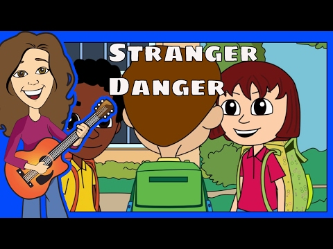 Stranger Danger & Awareness for Kids | Children nursery rhymes safety song | Patty Shukla