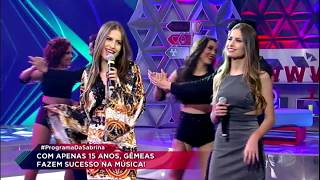 Baixar Júlia & Rafaella cantam o sucesso Paredes Pintadas no Programa da Sabrina
