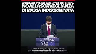 Intervento in Plenaria di Brando Benifei, capodelegazione Pd al parlamento europeo, sull''intelligenza artificiale nel diritto penale e il suo utilizzo da parte delle autorità di polizia e giudiziarie in ambito penale.