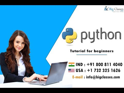 Introduction to Python | Tutorial for Beginners | BigClasses thumbnail