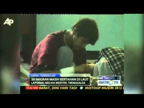 Migrant Ship Sinks Off Indonesia's Main Island